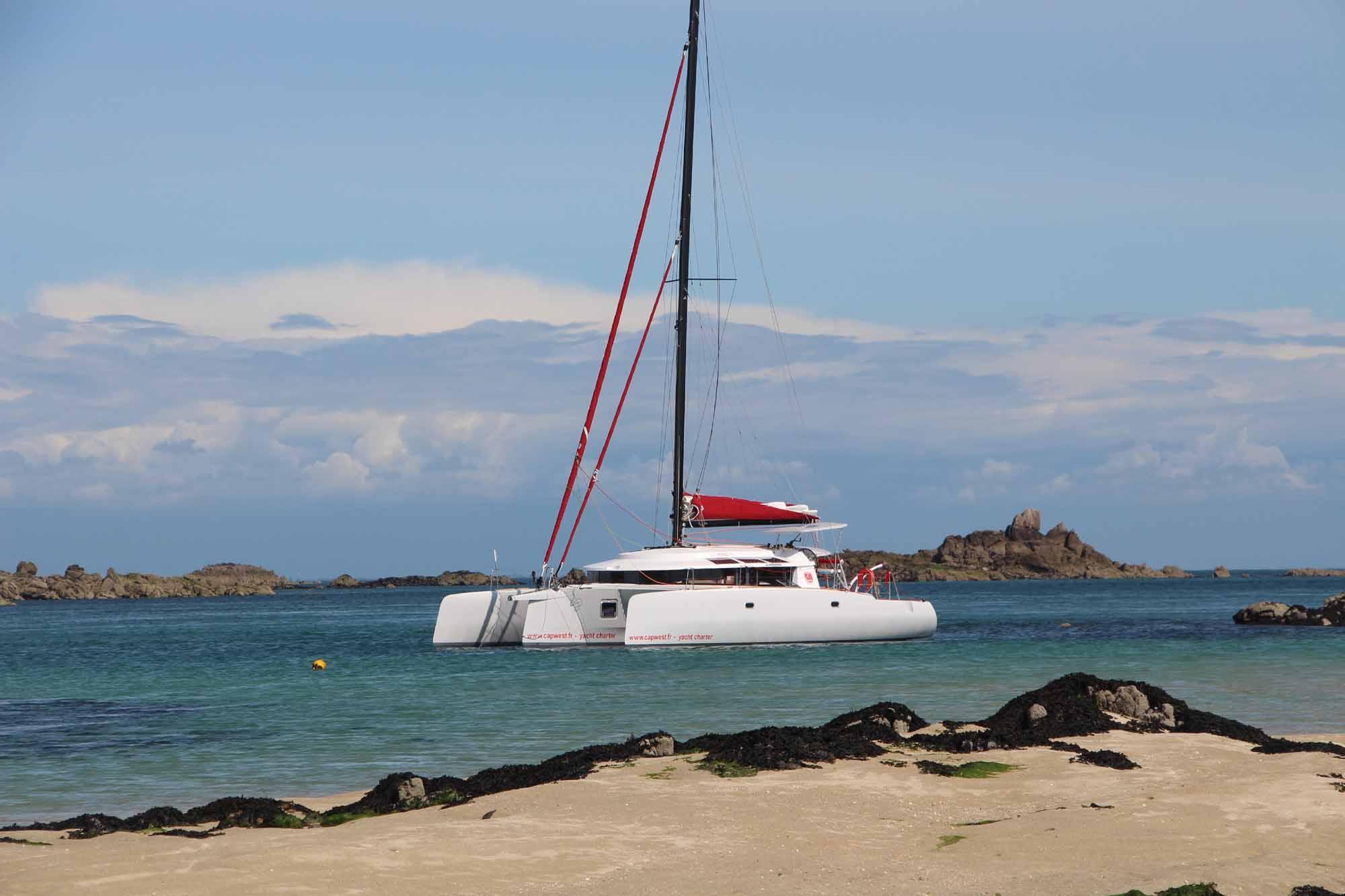 NEEL 45 trimaran : naviguez aux Antilles